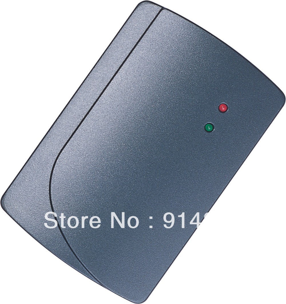 Free Shipping + weigand output EM proximity card reader+125KHZ door access control + waterproof weigand reader door access control without software 125khz rfid card metal access control reader with 180 280kg magnetic lock