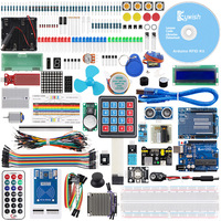 Keywish RFID Complete Sensor Super Starter Kit For Arduino UNO R3 Water level Servo/Stepper Motor With 28 Lessons Code Tutorial