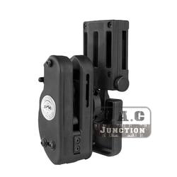 Ipsc gr velocidade pistola coldre uspsa idpa tiro competição ption universal mão direita pistola coldre para glock sti sv 2011