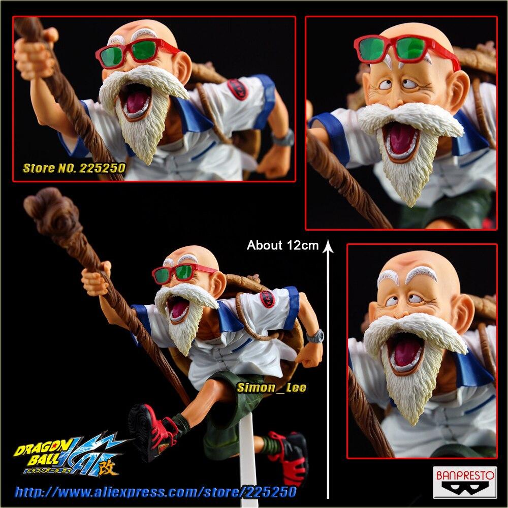 все цены на Japanese Anime DRAGONBALL Dragon Ball Z/Kai Original BANPRESTO SCultures Zoukei Tenkaichi Budoukai 3 Toys Figures - Master Roshi онлайн