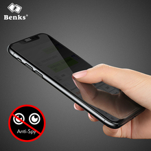 Фотография Benks For iPhone X Anti Glare Tempered Glass full cover For Apple iphone x Screen Protector Ultra Thin 0.23mm Glass For iPhonex