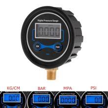 """0-200PSI lcd цифровой датчик давления в шинах для автомобилей и мотоциклов, воздушный PSI метр 1/"""" NPT"""