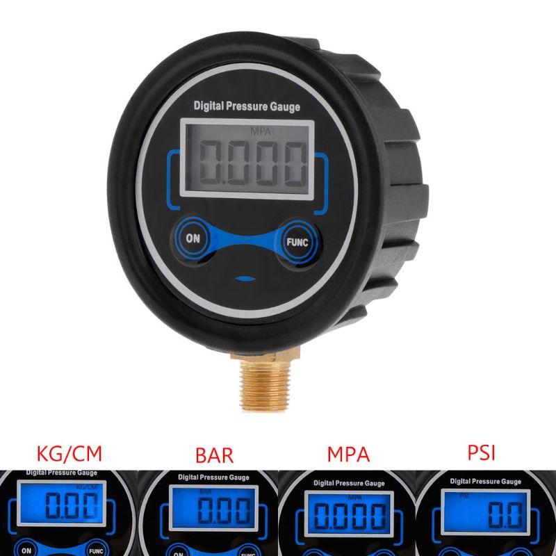 0-200PSI LCD Digital Tire Pressure Gauge Car Auto Motorcycle Tyre Air PSI Meter 1/8