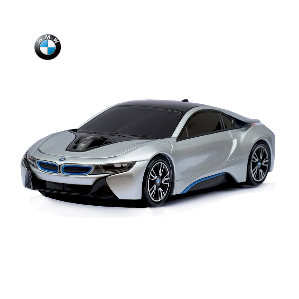 Officially licensed BMW i8 wireless optical car mouse best gift for birthday fantastic gift for car fans super good quality