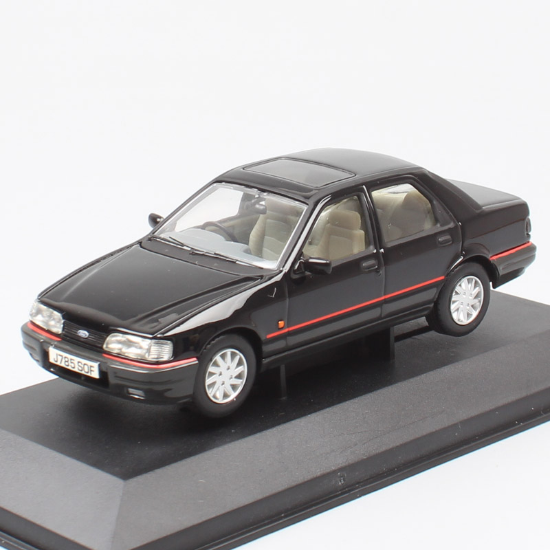 Children 1:43 Scale Cars Model Small Ford Sierra Sapphire GLS Die Cast Vehicle Car Auto Motor Replica Toy Corgi Vanguard V09901
