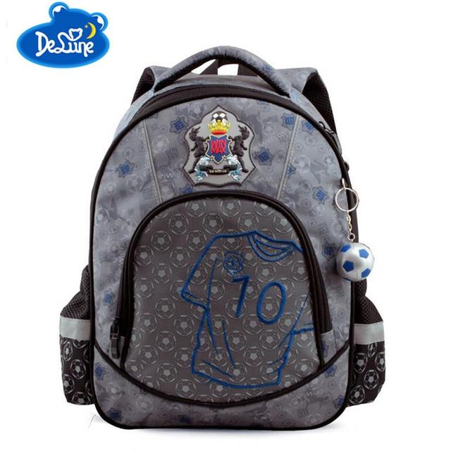 178cefe405a3 Delune New Zippers School Bags Top Quality Orthopedic Nylon Waterproof  Children Backpack boys 3D printing Bookbag Kids Mochila