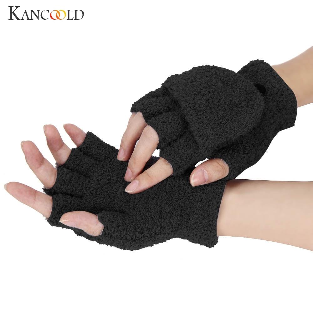 KANCOOLD Gloves Women Girls Ladies Hand Wrist Warmer Winter Fingerless Gloves Mitten High Quality Gloves Women 2018NOV23