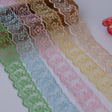 10 yards  Lace Tape Embroidered Pure Lace Trimmed Cloth For Wedding Decoration Home DIY Handmade Embroidery Intimate Accessories