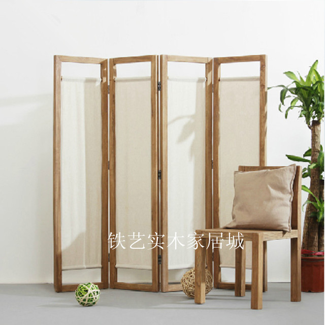 Antique Pine Furniture And Old Wood Wall Panels Stylish Living Room  Entrance Door Minimalist Modern Chinese