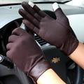 2016 новый мужской перчатки сенсорный экран перчатки мужчины водительские перчатки скольжению мужской Тонкий срез зимние перчатки 3 цветов