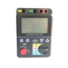 Smart Sensor AR3126 Digital High Voltage Insulation Resistance Tester 500~5000V / 0M~1000Gohm Megohmmeter Megger vc60b digital insulation resistance tester vici megger megohm meter 250v 500v 1000v high voltage and short circuit input alarm