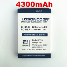 100% Original LOSONCOER 4300mAh HT20 For HOMTOM HT20 HT20 Pro Replacement Li-ion Phone Battery Batterie Bateria Accumulator AKKU(China)