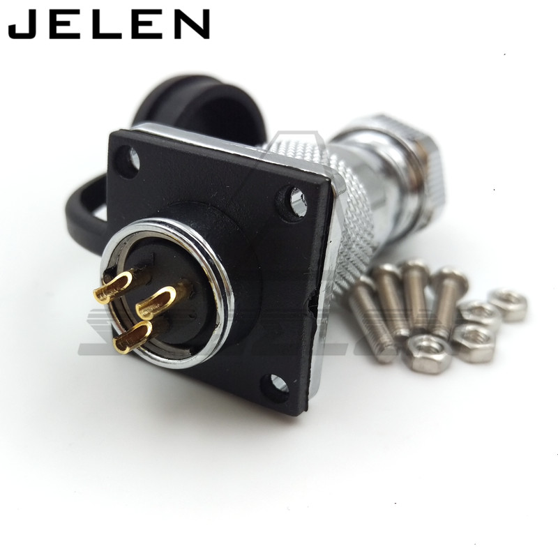 WS16 Industrial Connectors 3 pin,Industrial plug and socket, Airlines cable connectors, automotive connectors djt16f21 16jn [ circular mil spec connectors djt 16c 16 16 skt plug] mr li