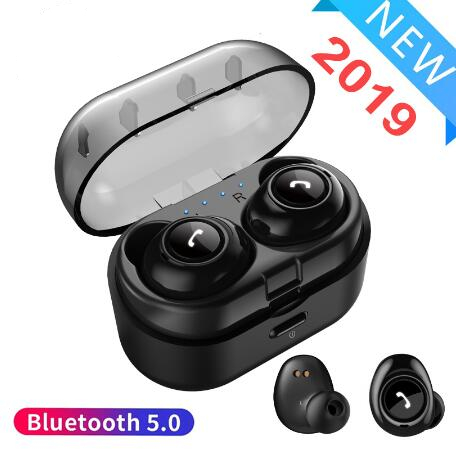 CP 7 TWS Bluetooth Earphone 5 0 Mini True Wireless Earbuds Stereo Bass Bluetooth Headset with Charging box for phone in Bluetooth Earphones Headphones from Consumer Electronics