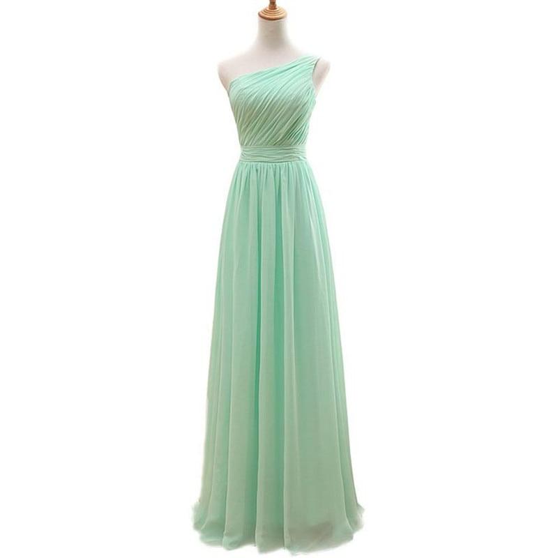 Designer Gowns Elegant Cheap Long Mint Green Long Evening Dress 2016 Party  Dresses Long ves tido longo long party dress-in Evening Dresses from  Weddings ... f7b09887980d
