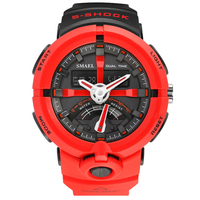 SMAEL Fashion Sport Watch Men Top Brand Luxury Famous Waterproof LED Digital Wrist Watch S Shock