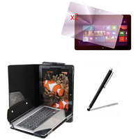 4in1 Luxury Leather Case With Detachable Keyboard Station Cover +2x Films +1x Stylus For ASUS Vivo Tab TF810 TF810C 11.6 Tablet