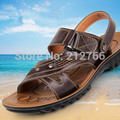 Sandalias Men's Sandals 2017 Summer Beach Slippers Men Shoes for Flat Casual Free Shipping