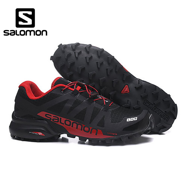New Design Salomon Speed Cross 4 CS Outdoor Cross-country Men running shoes Brand Sneakers Male Athletic Sport Shoes SPEEDCROS salomon speed cross 3 cs men shoes new man running shoes sports shoes sneakers outdoors mesh breathable wading walk couple athl