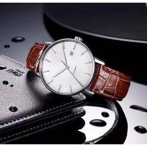 Image 2 - Original xiaomi mijia twentyseventeen relógio mecânico com superfície de safira pulseira de couro totalmente automático movimento mecânico