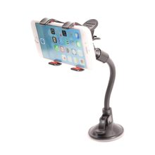 Mobile Phone Mount holder with suction cup Multi-angle 360 Degree Rotating Clip Windshield Smartphone Car Holder for Iphone 6 6S