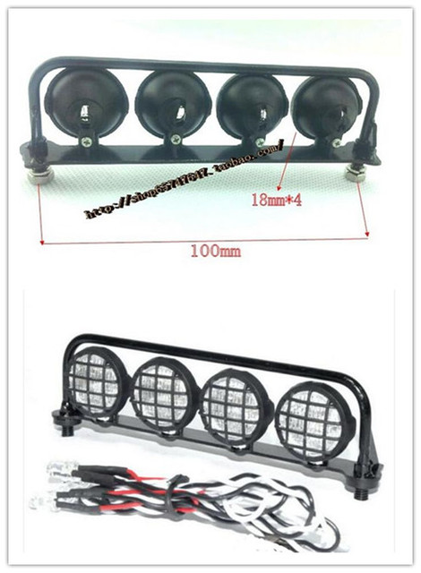 Bumper led light bar holder kits4 no assemblyfor 110 rc land bumper led light bar holder kits4 no assemblyfor 1 aloadofball Images