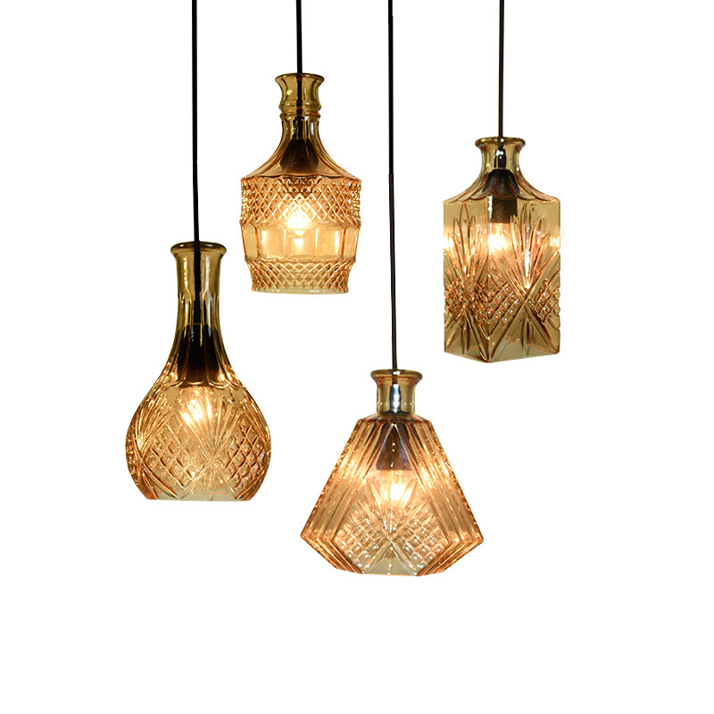 Nordic Simple Modern Pendant Lights Loft Industrial Glass Hanglamp Kitchen Bar Cafe Home Decoration Lustre Suspension LuminaireNordic Simple Modern Pendant Lights Loft Industrial Glass Hanglamp Kitchen Bar Cafe Home Decoration Lustre Suspension Luminaire