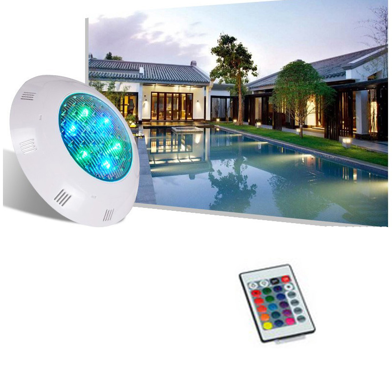 Led Lamps 2set Led Multi-color Rgb Pool Light Waterproof Underwater Light Swiming Pool Lamp With Remote Controller Led Underwater Lights