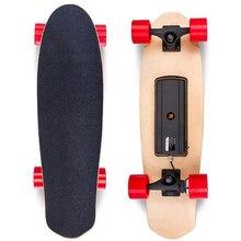 Hoverboard Vier räder Elektrische Skateboard Longboard Doppelbremse Elektroroller Licht Bord Faltbare Hoverboards Skateboard