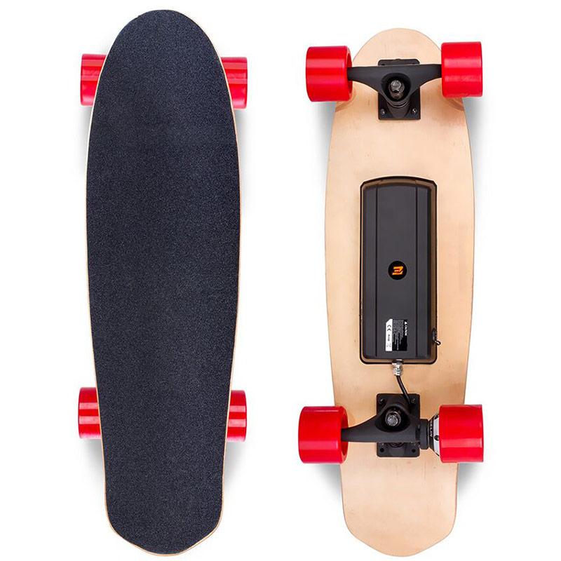 Hoverboard Four wheels Electric Skateboard Long Board Double Brake Scooter Light Foldable Hoverboards