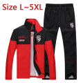 4XL 5XL Top Grade New Brand Tracksuit Men Sportswear Sport Suit Men Hoodies Set Jacket+Pants 2PCS Sweatshirts Men SP019