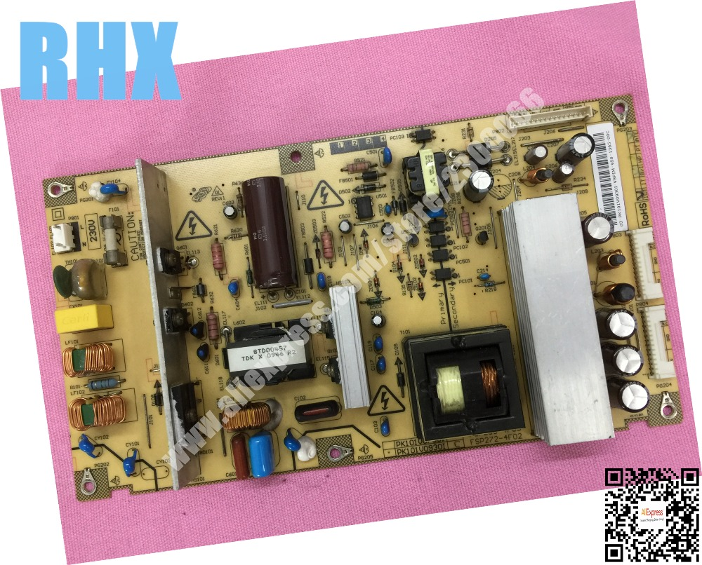 40C550C power panel PK101V0750I FSP238-4F03 PK101V0930I FSP272-4F02 is used 42pfl9509 power panel 2300kpg109a f is used
