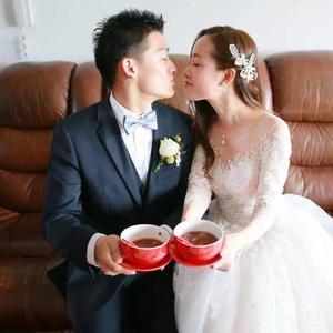 Image 4 - Vestido de noiva manga comprida, novidade de 2020, de casamento, de tecido tule e renda, vintage