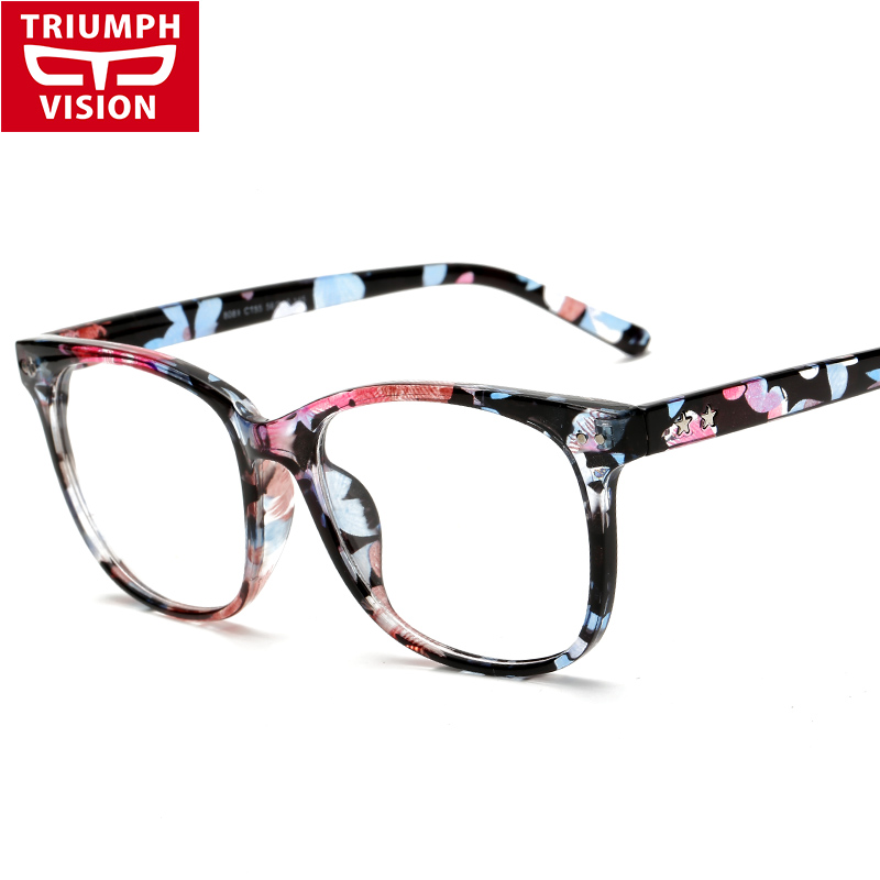 Multicolor Eyeglasses Frames Men Women Fashion 2016 Plain ...