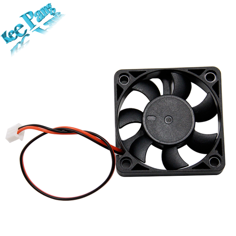 5pcs 5010 Cooling Fan 12V 2pin 3D Printers Parts Brushless Cool Fans Cooler Radiator Part 50*50*11 mm Quiet Accessory 5CM DC 50m 120x120x25mm 12025 fans 12 volt 2pin brushless 12cm dc fans chassis fan cooler cooling radiator