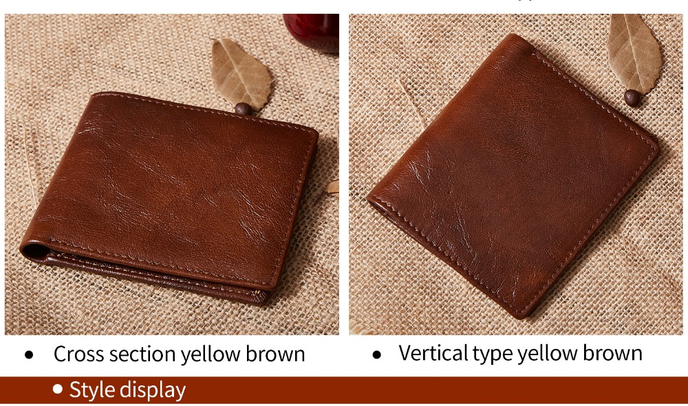 2031-100% top quality cow genuine leather men wallets fashion splice purse dollar price carteira masculina-1_01 (7)