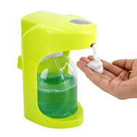 500ml Automatic Liquid Smart Sensor Pump Touchless Hand free Soap Dispenser Pump Shower Kitchen Soap Bottle for Bath/Washroom