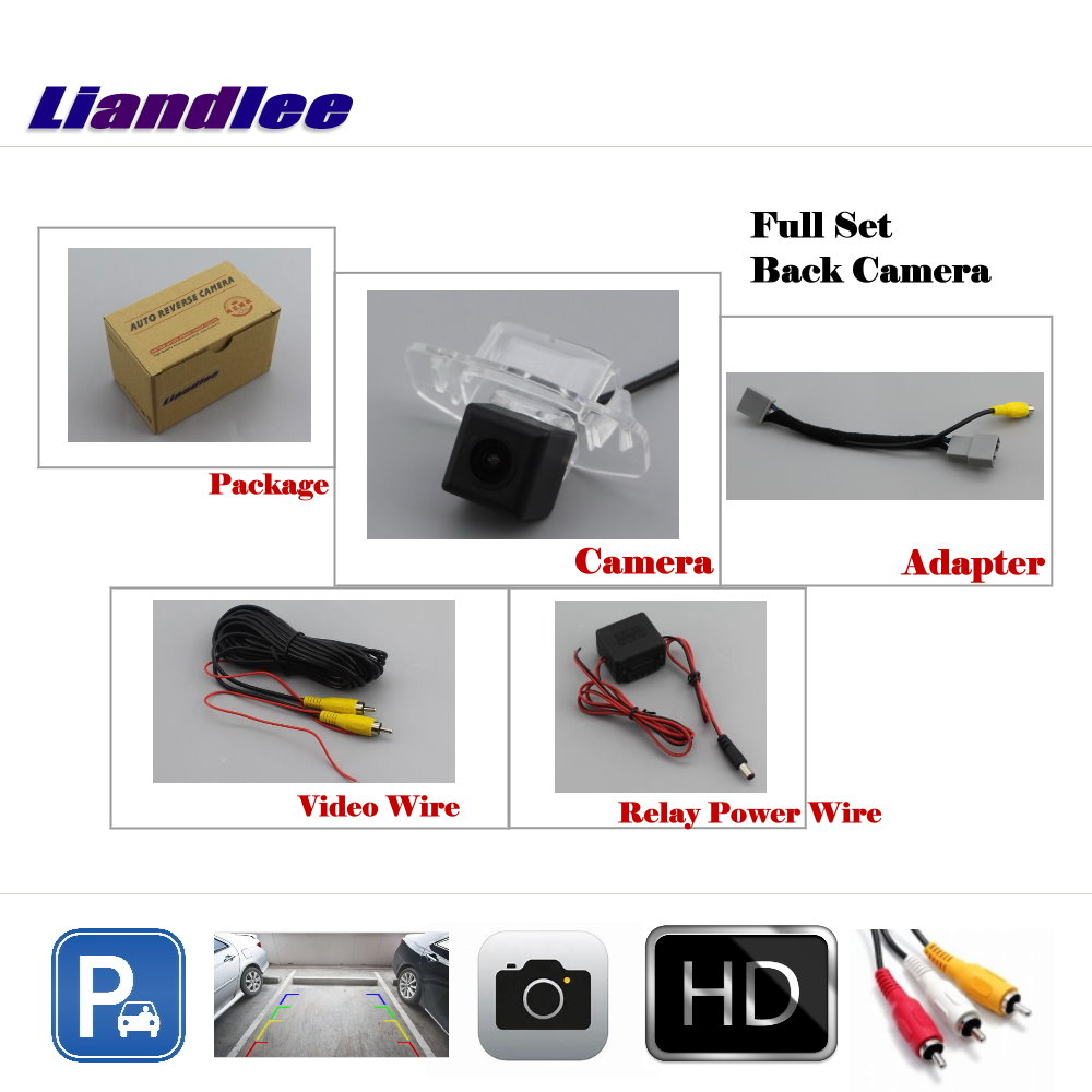 Liandlee Auto Rearview Reverse Parking Camera For Honda Civic 2011 2016 Rear View Backup Camera Work with Car Factory Screen in Vehicle Camera from Automobiles Motorcycles