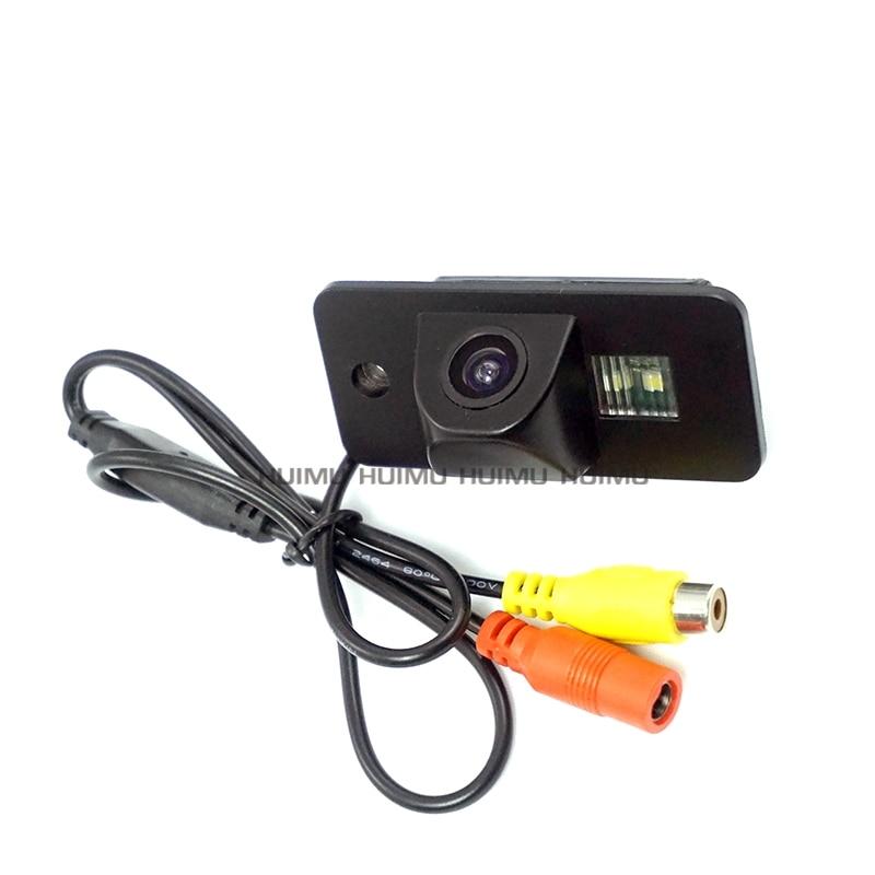 wire wireless car Reverse Rear View Backup Camera for Audi A6 R8 Q7 S8 S5 A3 A8L night vision wide angle