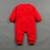 Pollo divertido Año Bebé Niños Niñas Traje Ropa de Manga Larga Grueso trajes Onesie Mono Del Bebé Del Mameluco Del Bebé del Año Nuevo Chino