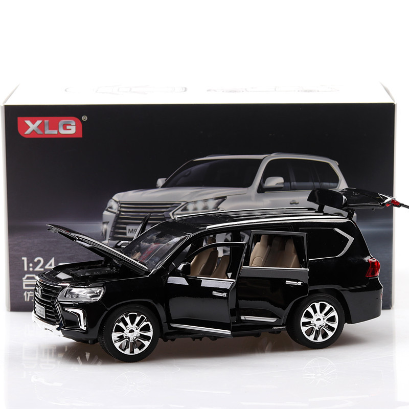 1 24 Lexus Lx570 Alloy Car Model Off road Vehicle Model Suv Simulation Car Model 6