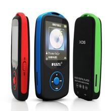 """2016 RUIZU X06 Bluetooth Deportes Reproductor de Música MP3 con 4 GB 1.8 """"pantalla de Visualización de Letras 100 Horas Sin Pérdidas de Alta Calidad Grabadora de FM"""