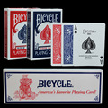 Bicycle Poker 1 pcs Blue or Red Bicycle Magic Regular Playing Cards Rider Back Standard Decks Magic Trick Free Shipping