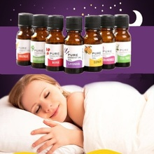 Pure Essential Oils For Aromatherapy Diffusers Body Relieve Stress Oil Skin Care Help Sleep