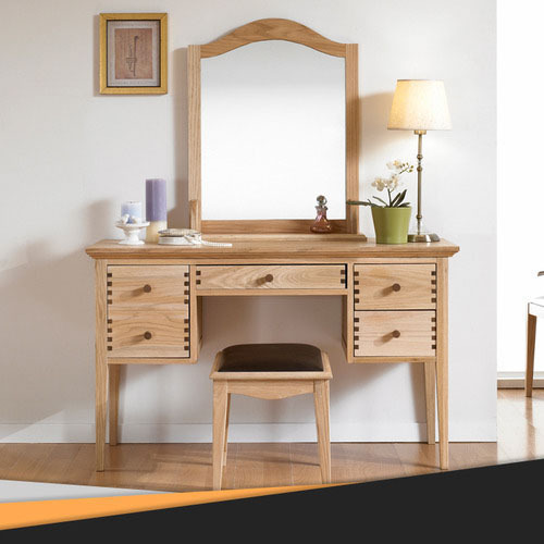 Superbe Scandinavian Modern Style Furniture Dodge Japanese Red Oak Dresser Simple  Fashion Suit Mirror Vanity Benches