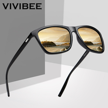 VIVIBEE Square Sunglasses Polarized for Men 2019 Trending Design UVA UVB Protect