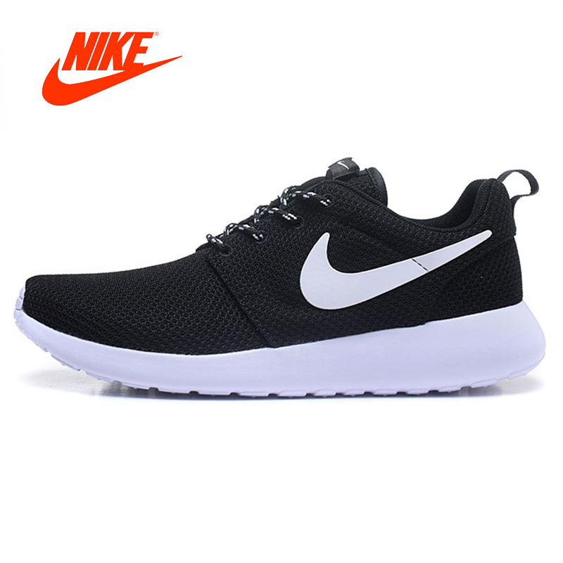 Original New Arrival Authentic Nike Roshe Men Air Mesh Breathable Running Shoes Sport Sneakers Trainers Shoes Good Quality nike original new arrival mens kaishi 2 0 running shoes breathable quick dry lightweight sneakers for men shoes 833411 876875