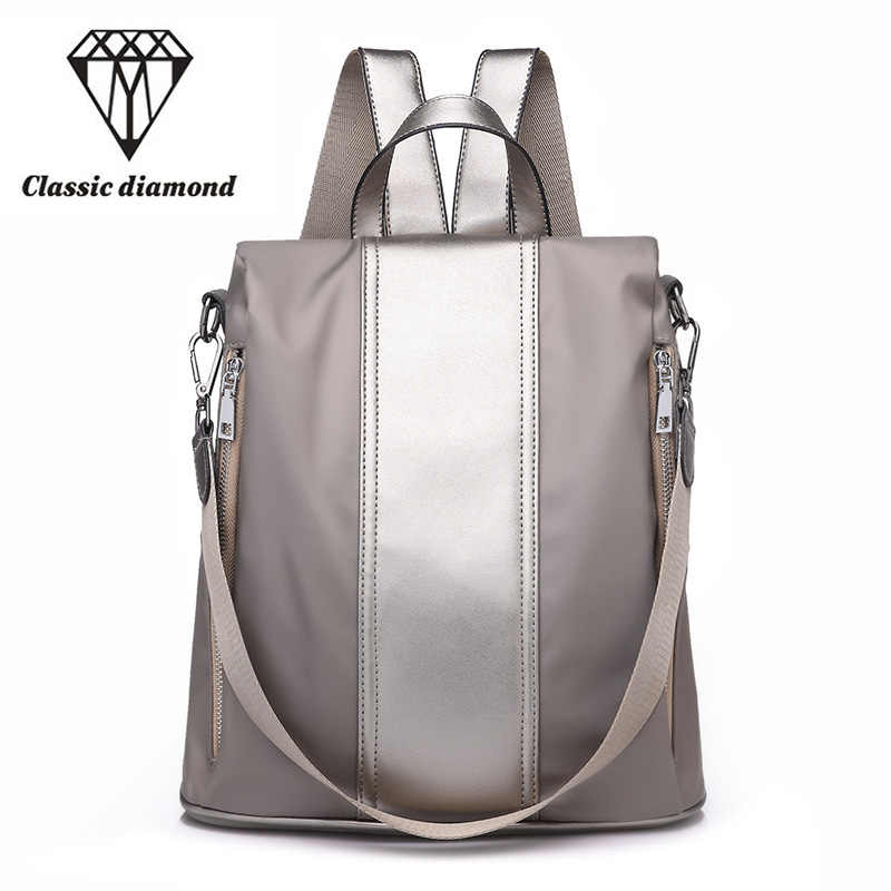 fd2dea5d2a New brand fashion women backpack Patent leather+PU school backpacks for  teenage girls 2018 casual