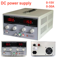 High precision Adjustable Display DC power supply 15V/30A High Power Switching power supply LED Dual Display Switching