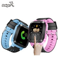 Hold Mi Q90 GPS Phone Positioning Children Watch 1 22 Inch Color Touch Screen WIFI SOS